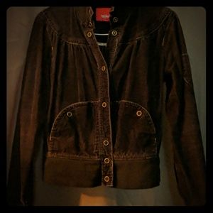 Black Jacket, Cordoroy material